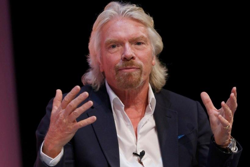 Richard Branson mattis oma pea lauljanna rindade vahele ja puristas!