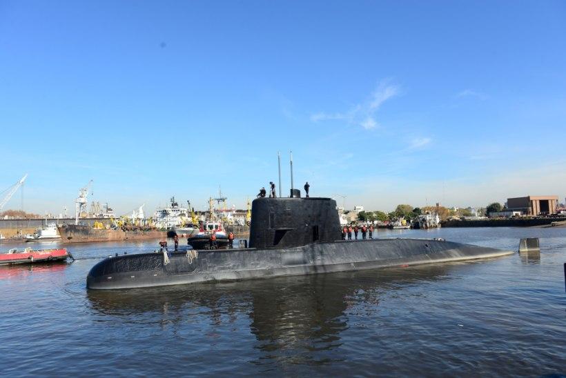 LOOTUS KUSTUMAS: Argentina kadunud allveelaevas oli lühis, põleng ja tugev plahvatus