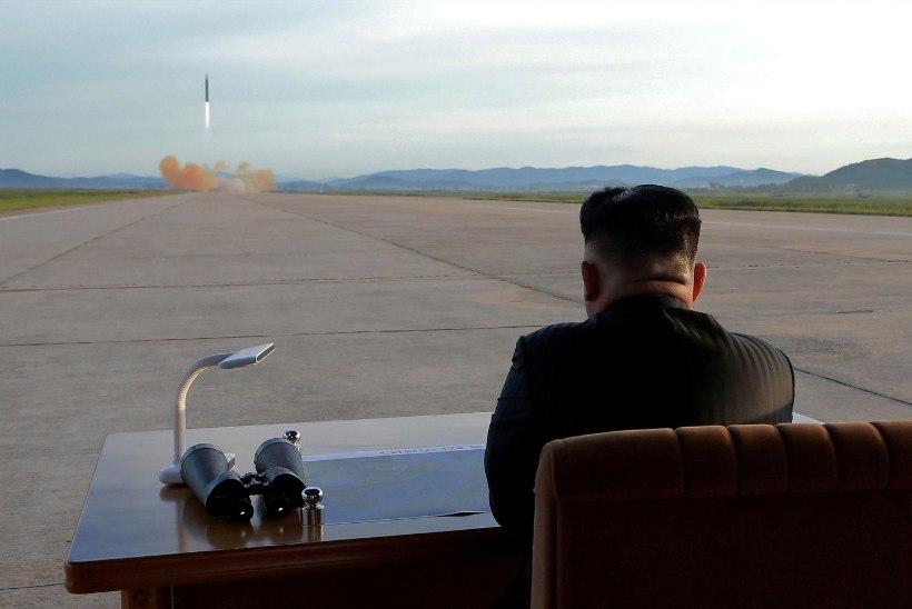 Põhja-Korea tulistas Jaapani suunas välja järjekordse raketi