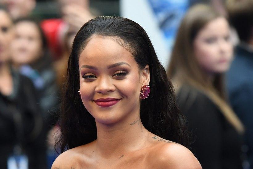 Rihanna magab öösel vaid kolm-neli tundi