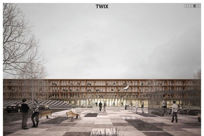 FOTOD JA TV3 VIDEO | Selline onsisekaitseakadeemia Narva õppehoone arhitektuurilahendus