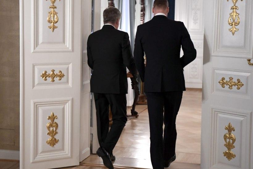 FOTOD | Prints William jõudis Soome ning kohtus president Sauli Niinistöga