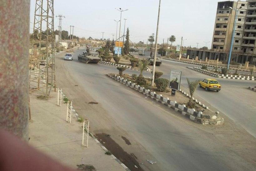 Süüria sõjavägi võttis ISISelt tagasi Deir al-Zouri