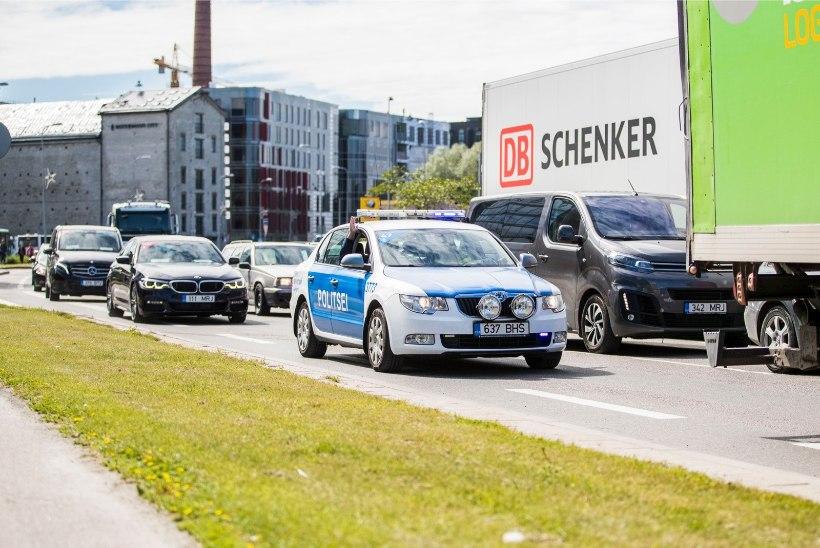 Politsei otsib Tallinnas juhtunud liiklusõnnetuste pealtnägijaid