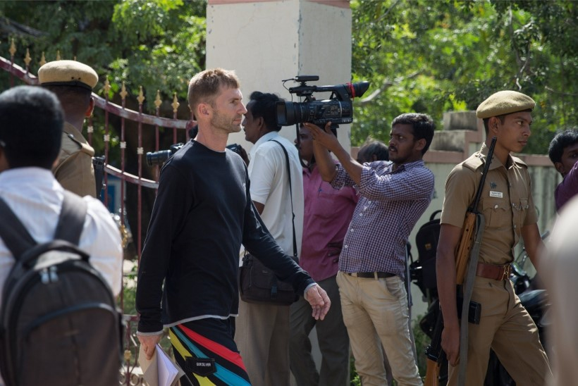 Eesti kõrged diplomaadid kohtusid Indias kinnipeetud laevakaitsjatega
