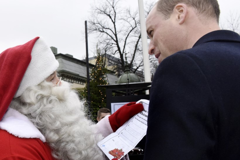 KUI ARMAS! Prints William andis Soomes jõuluvanale üle poja kingisoovi