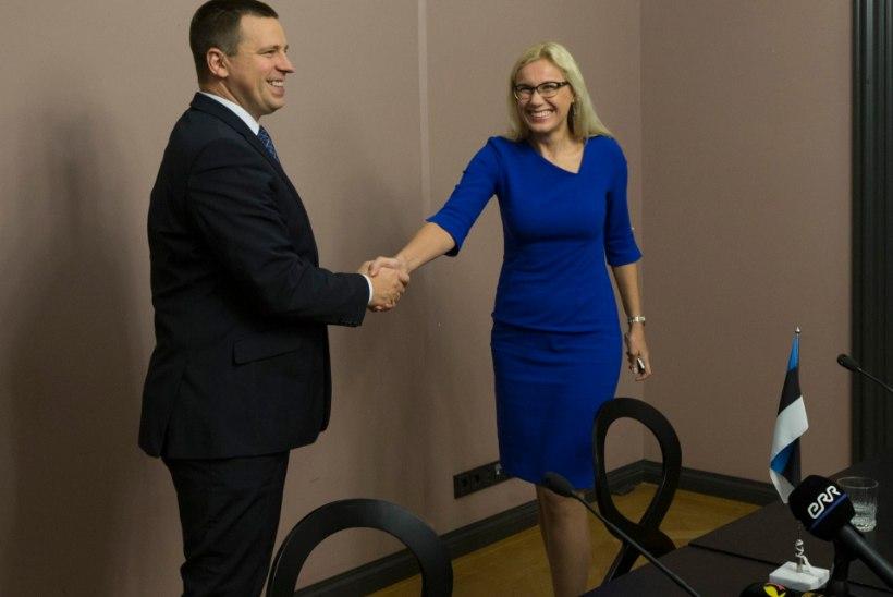 """Peaminister Ratas: """"Toetan igati Kadri Simsoni jätkamist valitsuse liikmena."""""""