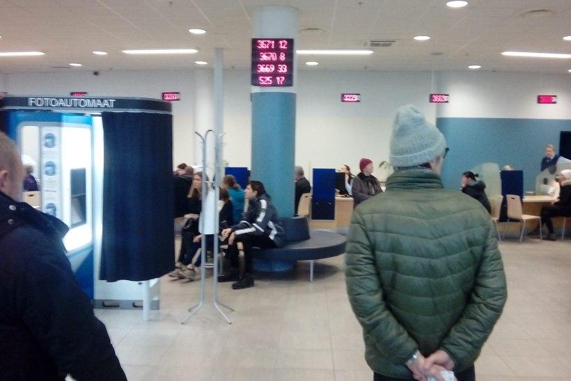 967979e5b17 FOTOD | PPA Tammsaare teenindus töötab, järjekorda pole ja ID-kaardi saab  uuendatud kiirelt