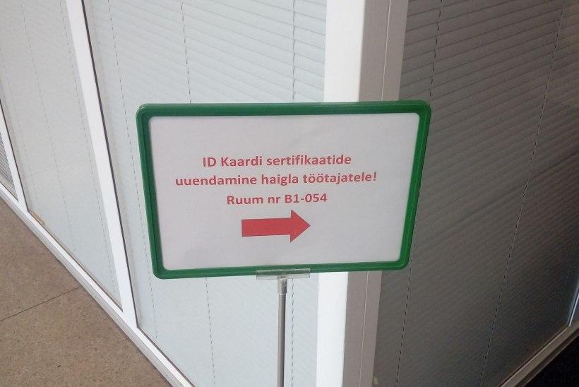 FOTOD | PERHi töötajad ootavad elavas järjekorras: mis saab, kui meedikul jääb ID-kaart uuendamata?