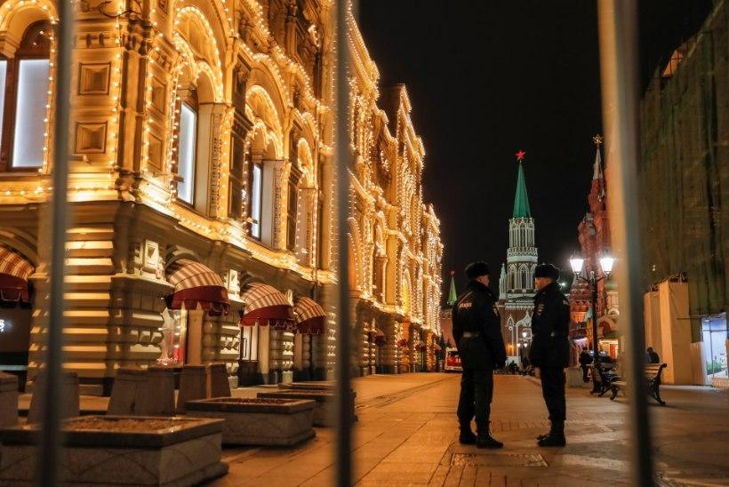 POMMIÄHVARDUSTE LAINE: Venemaal tehti mitmele hoonele anonüümne pommiähvardus