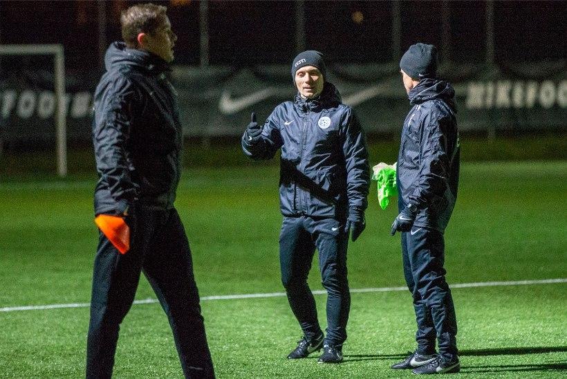 GALERII | Jalgpallikoondis valmistub Soome ja Malta mängudeks Kostja, Klavani ja isaks saanud Lutsuta