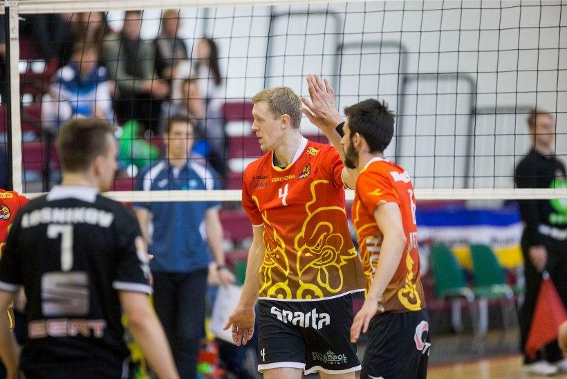 Eesti volleklubid tümitavad Balti liigas jätkuvalt lõunanaabreid