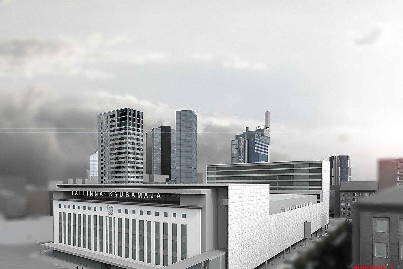 GALERII | Tallinna Kaubamaja pani arhitektuurivõistluse tööd rahvahääletusele