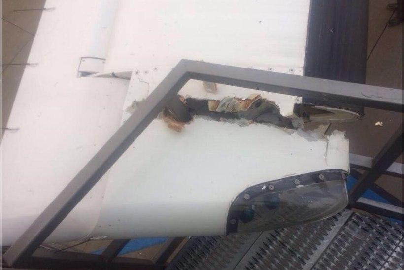 FOTOD | airBalticu lennuk sattus kokkupõrkesse ja kaotas tiiva