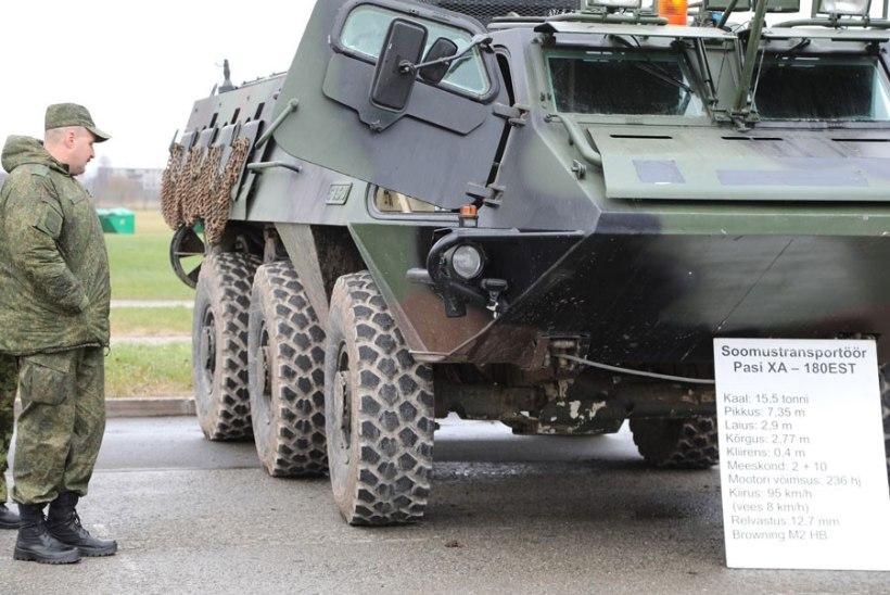 FOTOUUDIS | Vene ohvitserid inspekteerivad keskpolügooni ja 1. jalaväebrigaadi