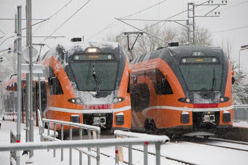 Elroni hinnatõusu põhjus: Tallinnast Narva 25 minutit kiiremini, Tartust Valka ka pärast seitset