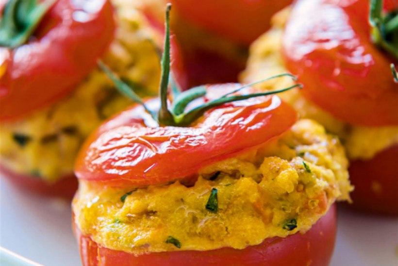 Täidetud tomatid Itaalia moodi