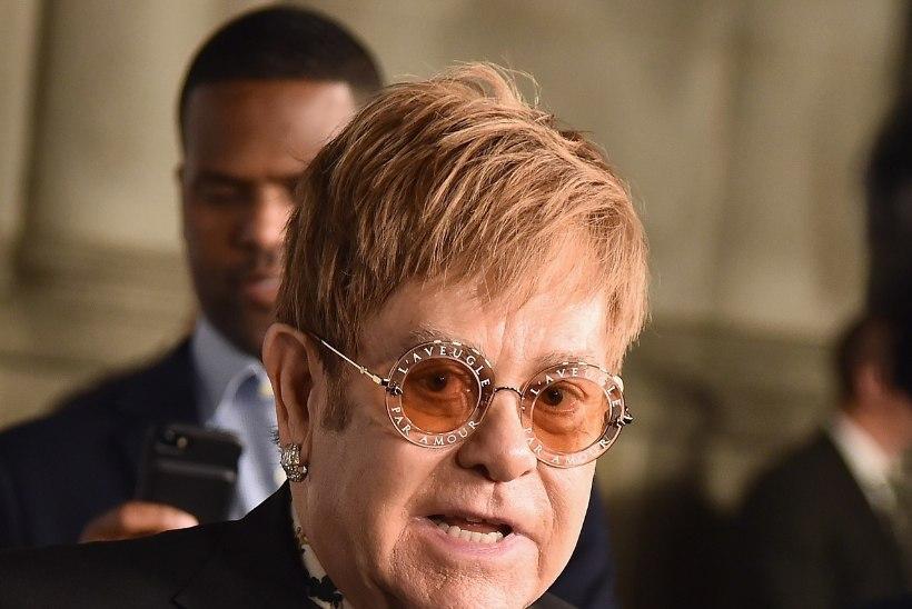 Elton John: uimastid tegid minust koletise