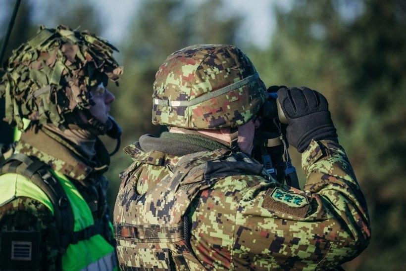 VIDEO JA FOTOD   SOOMUSVÄED: Eesti sõdurid pidasid Lätis prantslastega õppust