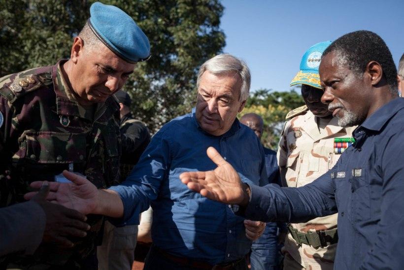 ÜRO lasi Kesk-Aafrika Vabariigi sõjakurjategijad vabaks