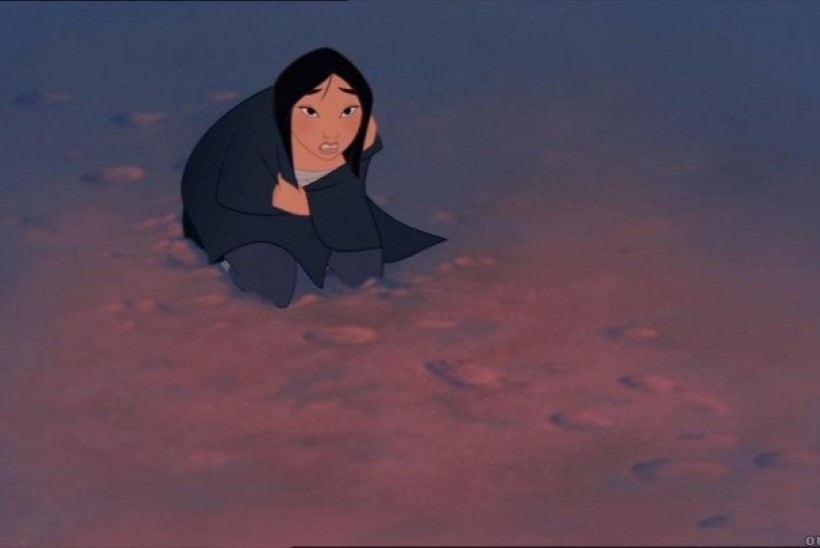 Disney valis Mulani rolli hiinlanna