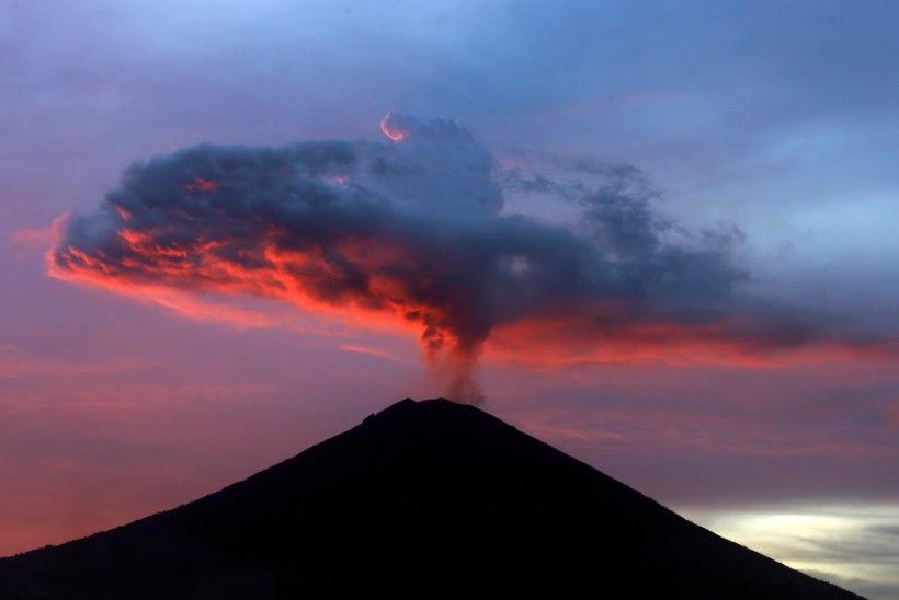 Bali vulkaan võib ajutiselt põhjustada temperatuuri languse kogu planeedil