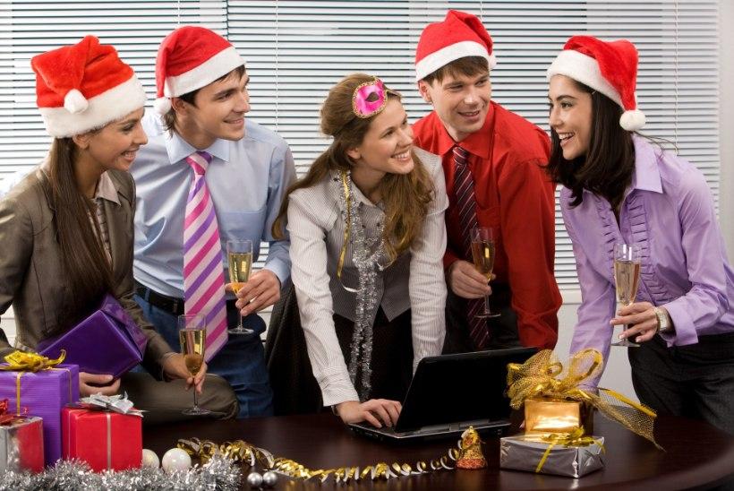 RISKIDA VÕI MITTE: üks inimene kümnest saab kontori jõulupeol mõne suguhaiguse