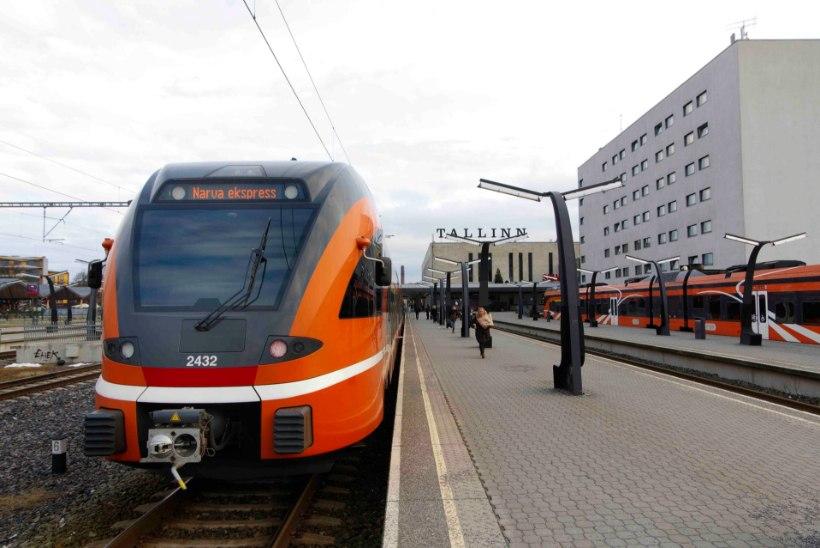 Tänasest alustab Tallinn-Narva ekspressrong