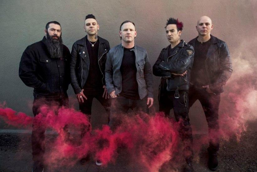 Maailma kuumemaid metalbände Stone Sour esineb suvel Pirita kloostris