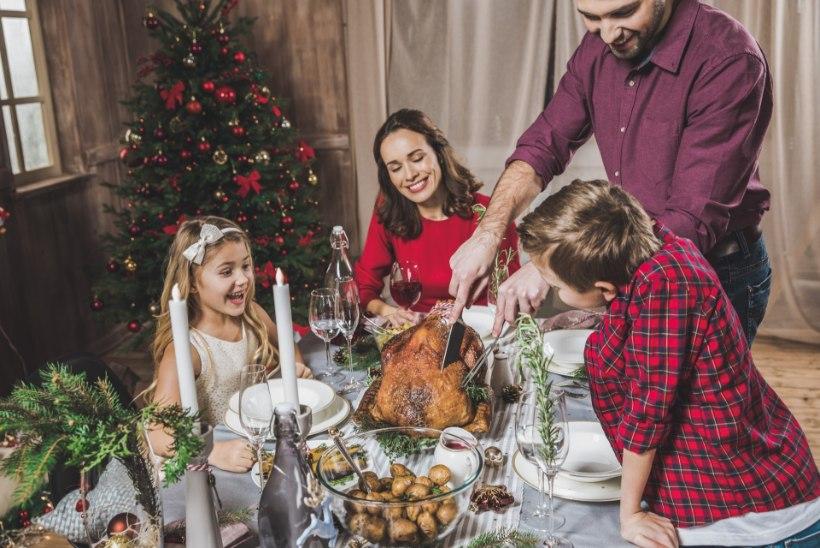ENNETA ÜLESÖÖMIST: vähenda portsjoneid ja jõululauale vali tervislikumaid alternatiive