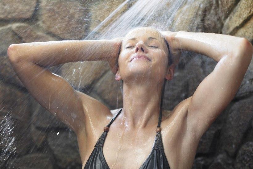 Ohhoo! Kord päevas duši all pesemine paneb tervisele põntsu