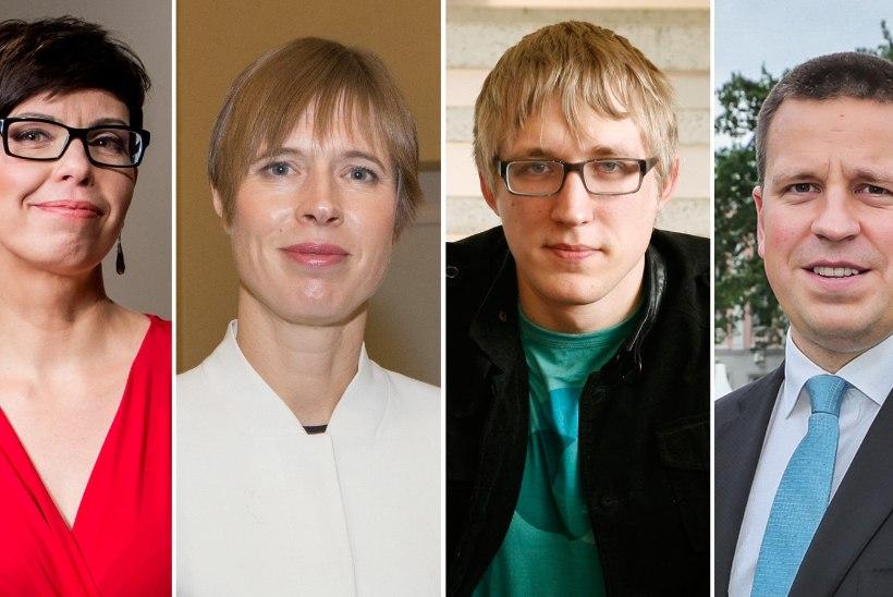 ETV aastalõpuintervjuus usutleb Välba presidenti ja Tralla peaministrit