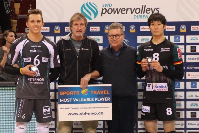 Võimsa serviseeria teinud Karli Allik valiti Saksamaal teist korda mängu parimaks