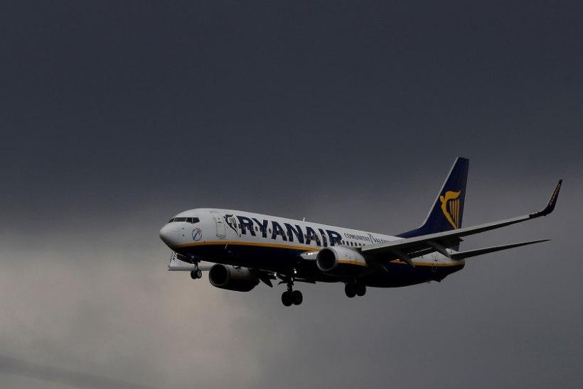 Ryanairi piloodid plaanivad enne jõule streikima hakata