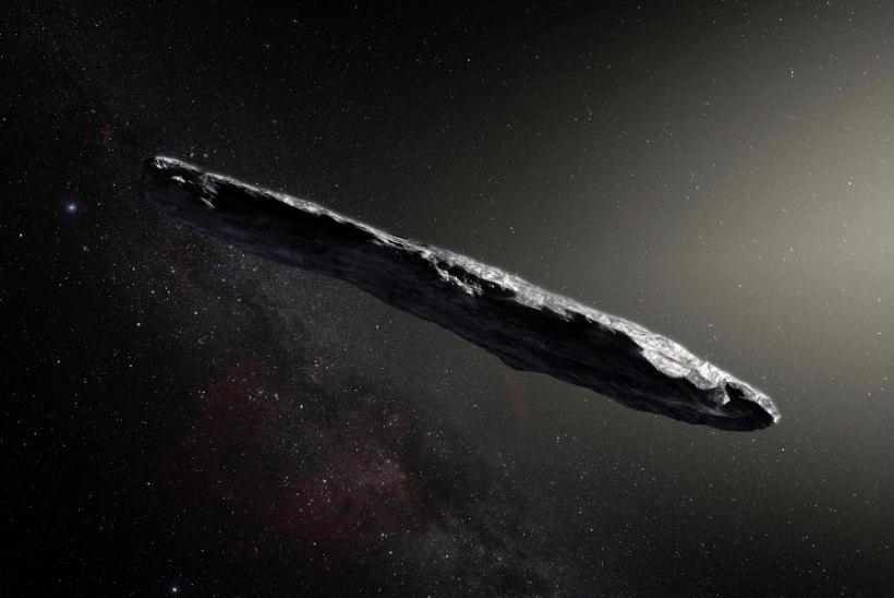 Oumuamua - asteroid või hoopis kosmosetulnukate sõiduk?