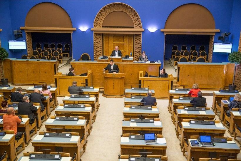 Riigikogu võttis vastu pikaajalisi eesmärke toetava uue riigieelarve