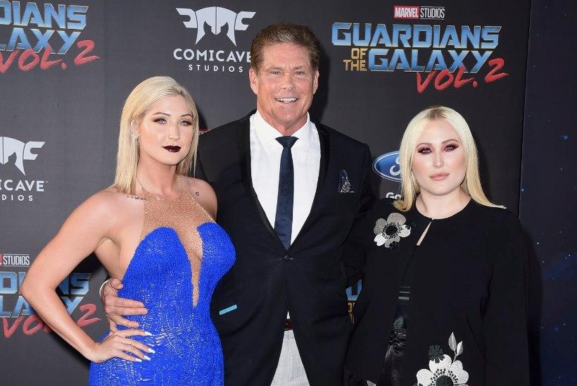 KURVIKAS MODELL: David Hasselhoffi tütar poseeris seksikas pesus