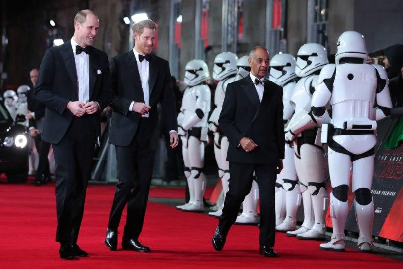 """Printsid William ja Harry mängivad """"Tähesõdade"""" filmis"""