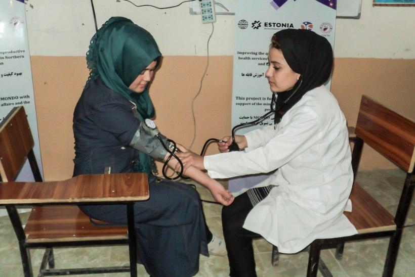 Eesti ämmaemandad õpetavad Afganistani kolleege