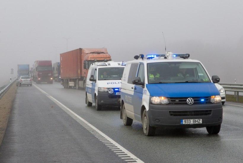 GRAAFIK | Mis toimus Eesti eesistumise ajal liikluses väljaspool Tallinna?