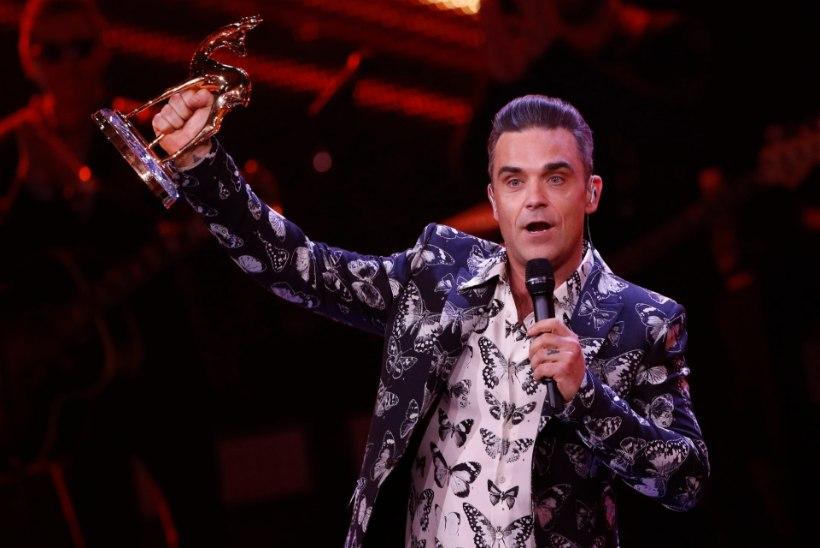Robbie Williamsi tervis teeb muret: olin intensiivravis voolikute külge aheldatud