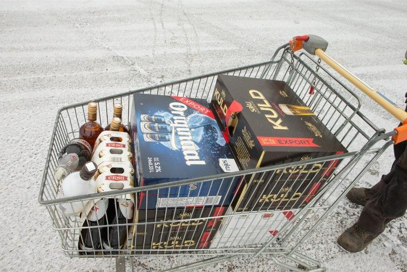 Maksuamet püüab Lätist alkoholi toovaid edasimüüjaid kaameratega
