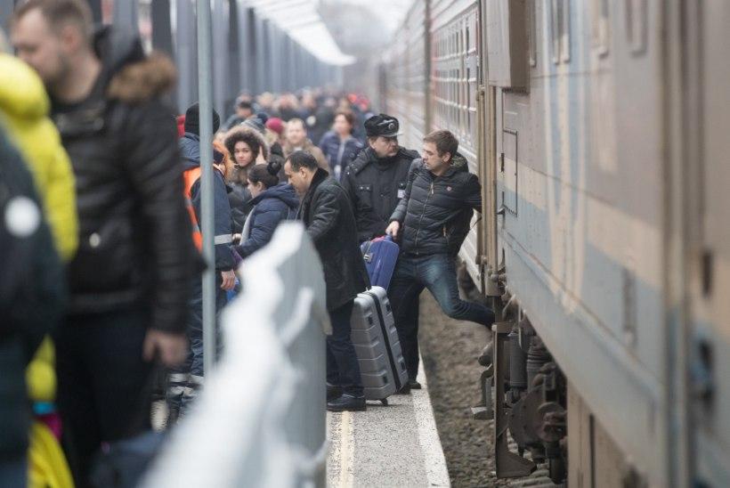 Eesti Raudtee kahekordistab vene turistide nõudluse tõttu vagunite arvu