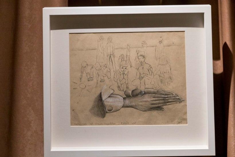 PILDID | Kunstnik Martin Saar tõi esimest korda avalikkuse ette oma joonistused
