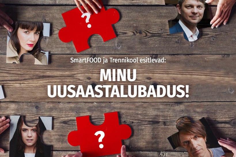 """Osale koos sõbraga Õhtulehe ja SmartFOODi megaprojektis """"Minu uusaastalubadus!"""" ja võida 3000-eurone auhind!"""