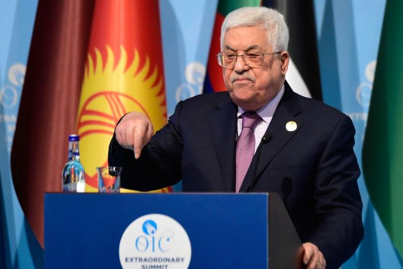 "Palestiina president: ""Jeruusalemm on ja jääb Palestiina pealinnaks."""