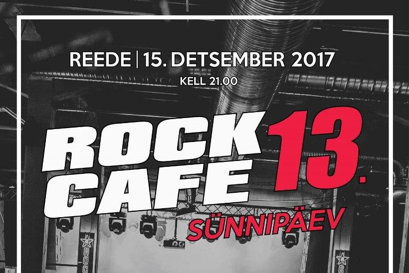 KURADITOSIN! Rock Café sünnipäeva troonivad Singer Vinger ja Vennaskond