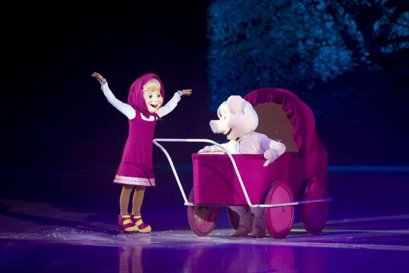 """""""Maša ja karu"""" jääsõul astuvad üles teiste seas ka Ott Lepland ja Tanja Mihhailova-Saar"""
