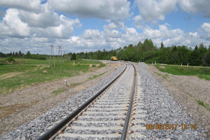 FOTOD | RAUDTEE VALMIS: rongid saavad nüüd Tartu-Tallinna liinil sõita 120 km/h