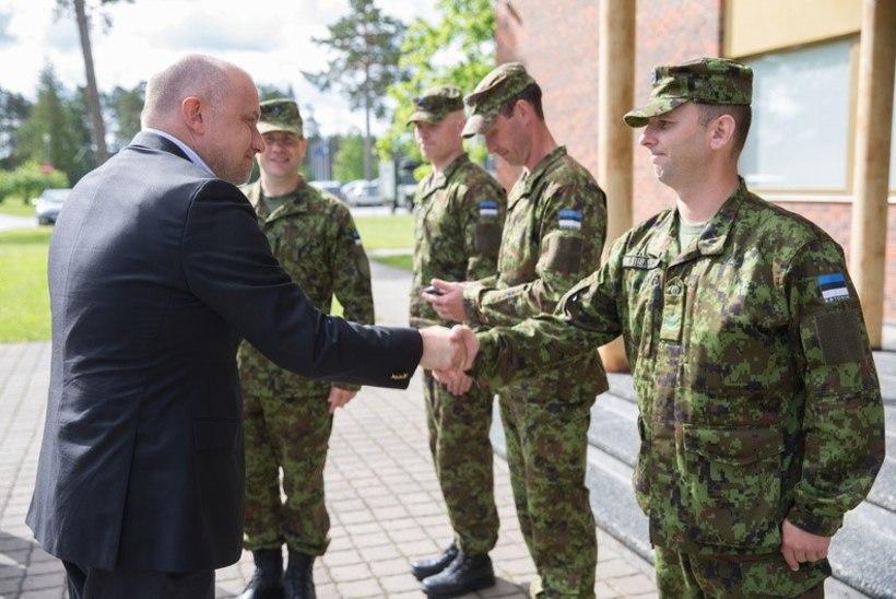 FOTOD | Kaitseminister andis kaitseväelastele missioonimedalid